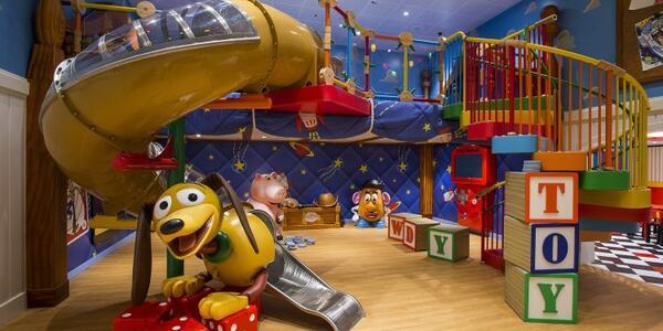 Andy's Room on Disney Magic (Photo: Disney)