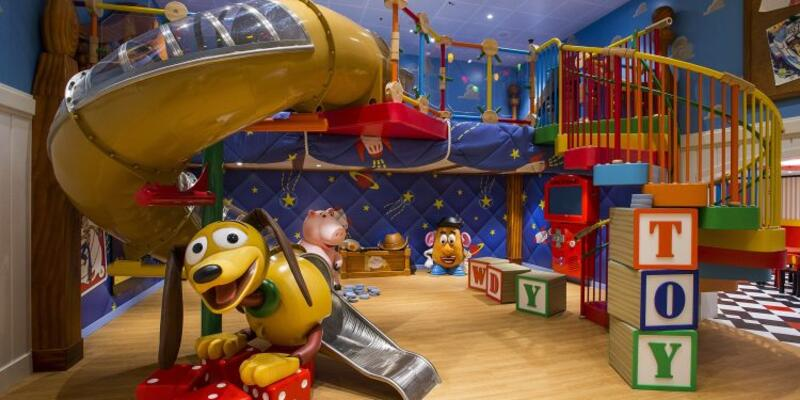 Andy's Room on Disney Magic (Photo: Disney)