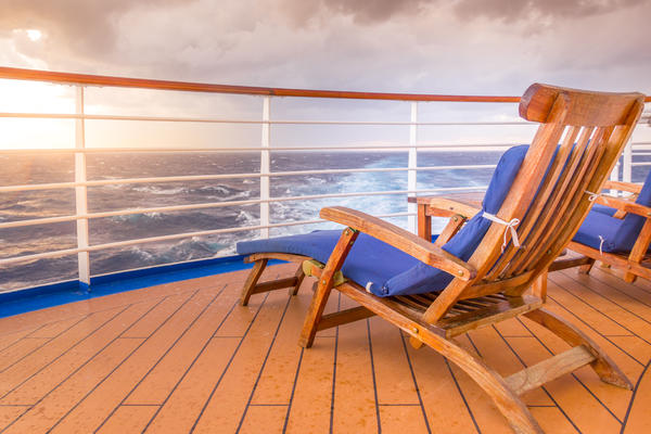 Sunset on a Sun Deck (Photo: Martina Birnbaum/Shutterstock)