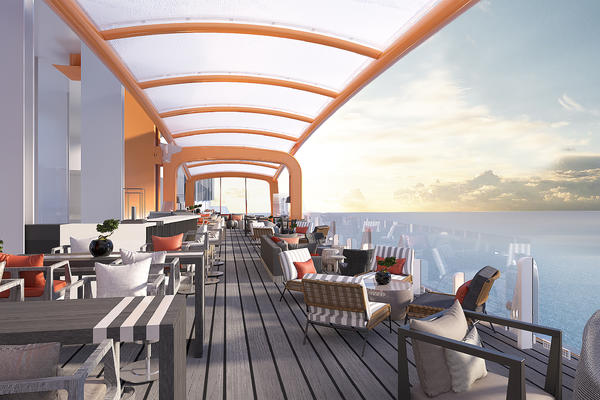 Celebrity Cruises' Magic Carpet on Celebrity Edge (Photo: Celebrity)