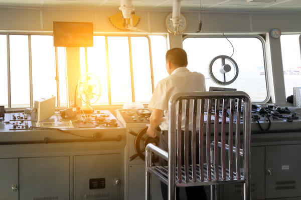 Captain Testing Major Systems of the Vessel (Photo: woaiss/Shutterstock)