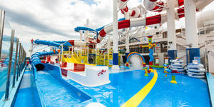 Carnival Horizon's Dr. Seuss WaterWorks (Photo: Cruise Critic)