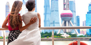 Couple Cruising in Shanghai City, China (Photo: Maridav/Shutterstock)
