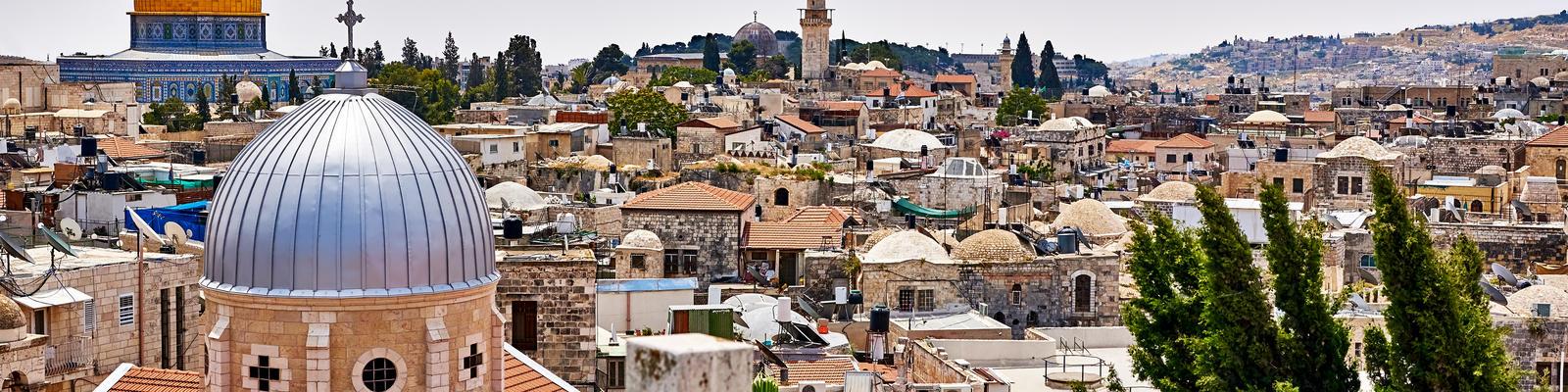 Jerusalem Panoramic Roof View (Photo: Kyrylo Glivin/Shutterstock)