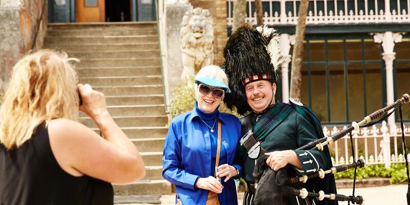 Princess Cruises shore excursion at Larnach Castle in Dunedin, New Zealand (Photo: Princess Cruises)