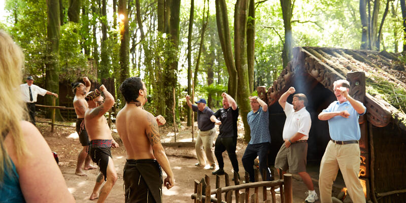 Maori Village in Tauranga, New Zealand (Photo: Princess Cruises)