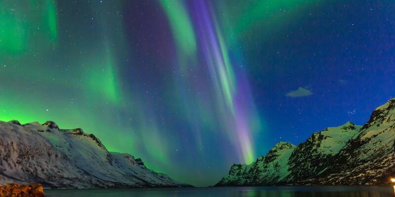 Northern Lights in Tromso, Norway (Photo: V. Belov/Shutterstock)