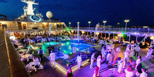 White Night Deck Party on Azamara Pursuit (Photo: Cruise Critic)