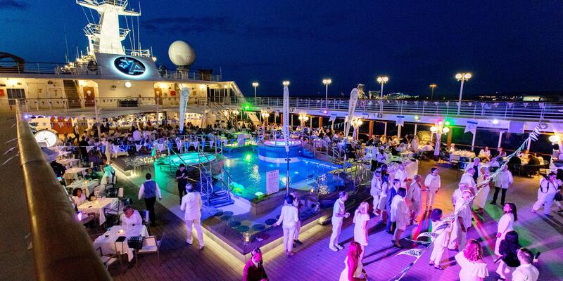 White Night Deck Party on Azamara Pursuit (Photo: Cruise Critic)