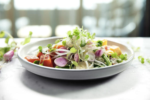 Butternut Squash Salad Onboard Norwegian (Photo: Norwegian)