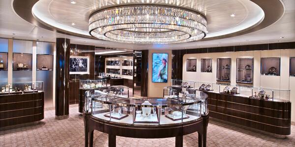 Seabourn Encore Boutique Jewelry Store (Photo: Seabourn)