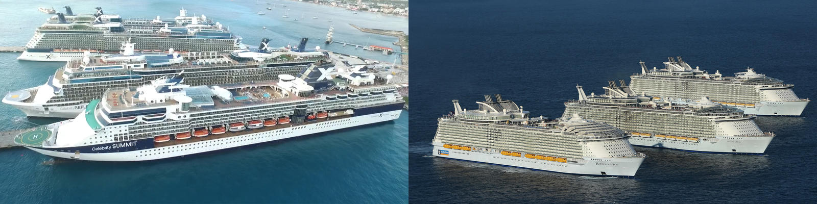 Celebrity Cruises vs. Royal Caribbean International