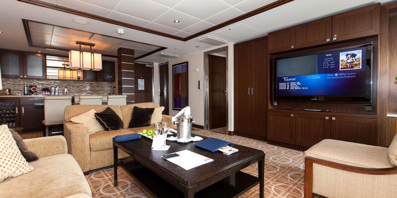 The Royal Suite on Celebrity Equinox (Photo: Cruise Critic)
