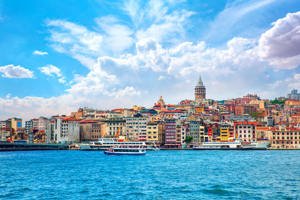 Galata Tower, Istanbul Turkey (Photo: muratart/Shutterstock)