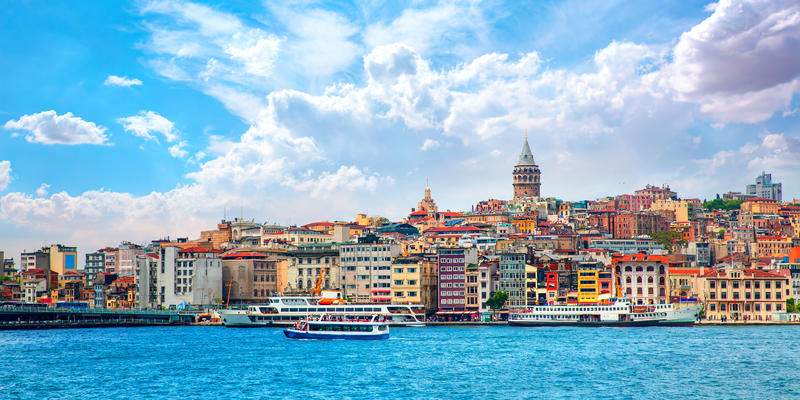Galata Tower, Istanbul Turkey (Photo: muratart/Shutterstock)