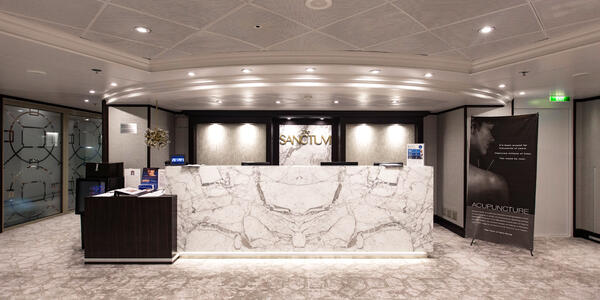 The Sanctum Spa on Azamara Journey (Photo: Cruise Critic)