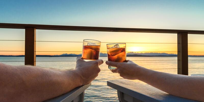 Refreshments at Sunset (Photo: SeaRick1/Shutterstock)