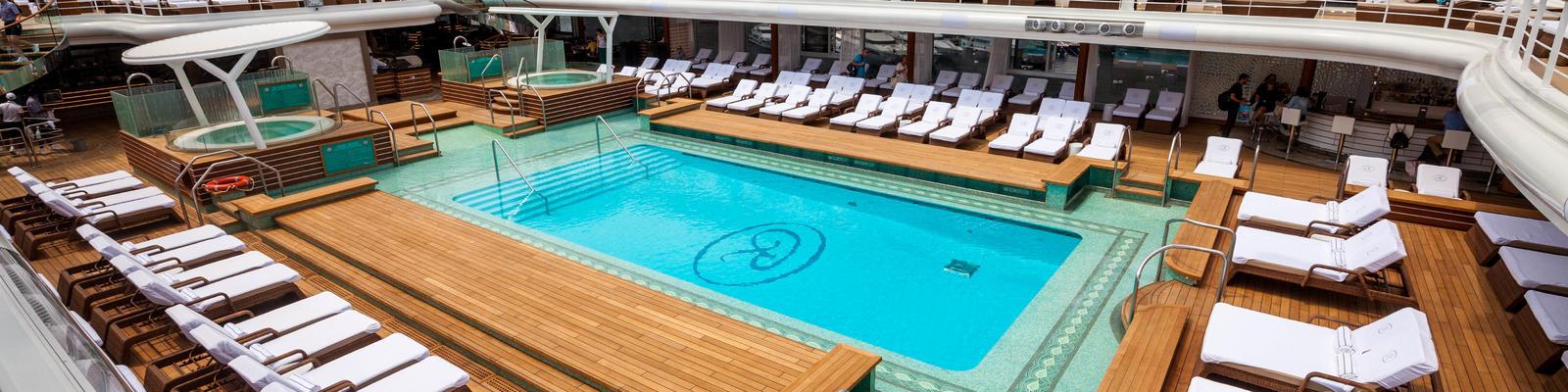 Pool Deck on Seven Seas Explorer (Photo: Cruise Critic)
