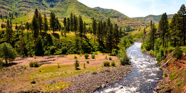 Hells Canyon National Recreation Area (Photo: Zack Frank/Shutterstock)
