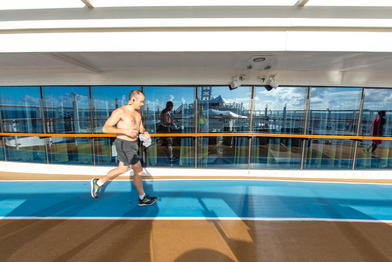 Jogging Track on Norwegian Dawn