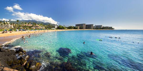Kaanapali Beach from Black Rock, Maui, Hawaii (Photo: Photo Image/Shutterstock)
