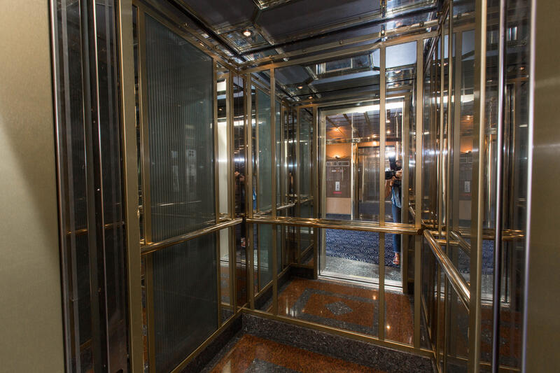Elevators on Silver Cloud Expedition