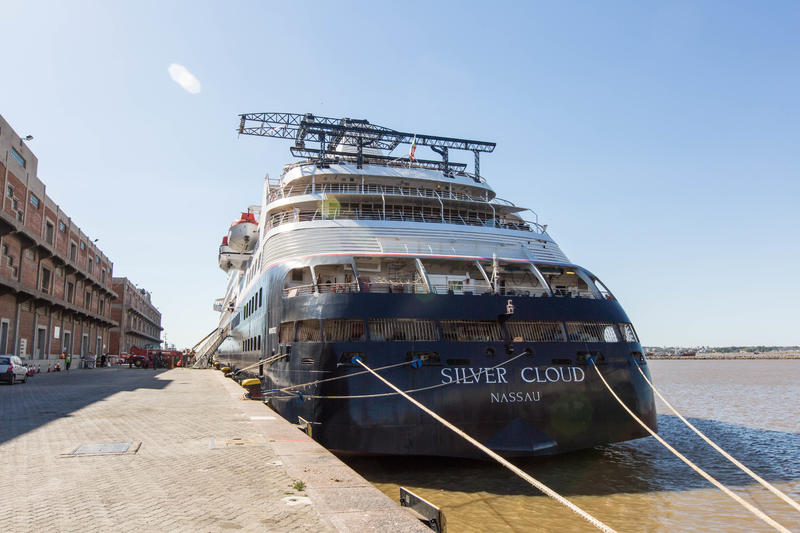 Ship Exterior on Silver Cloud Expedition