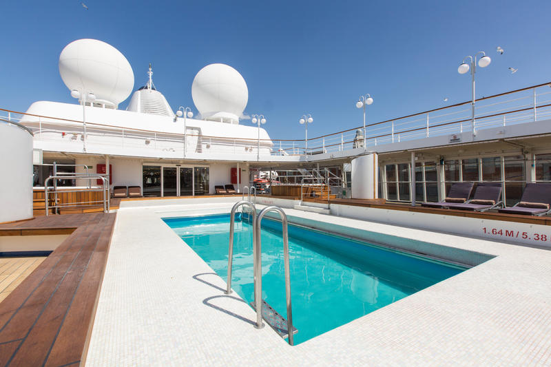The Pool on Silver Cloud Expedition