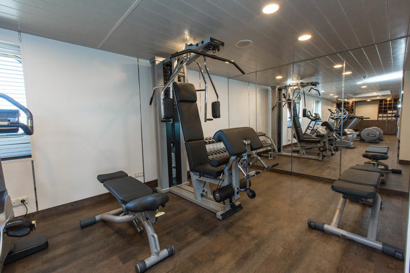 Fitness Center on Silver Cloud Expedition