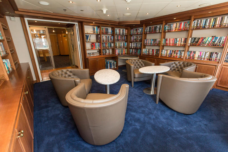 Library on Silver Cloud Expedition
