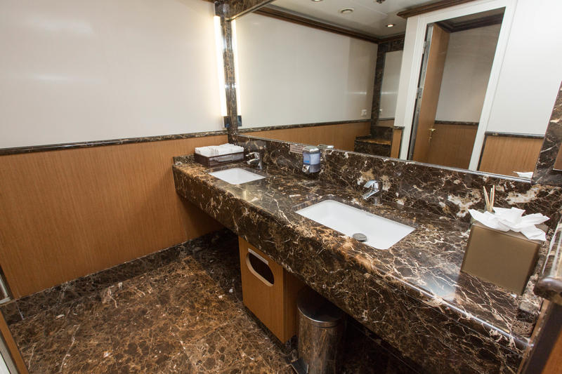 Public Restrooms on Silver Cloud Expedition