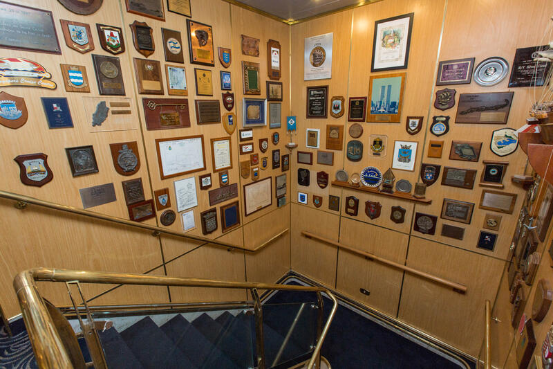Hallways on Silver Cloud Expedition