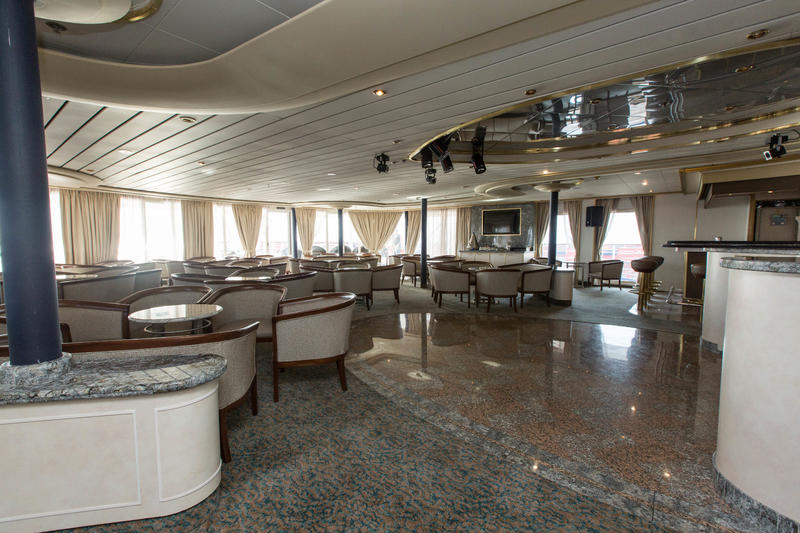 Panorama Lounge on Silver Cloud Expedition
