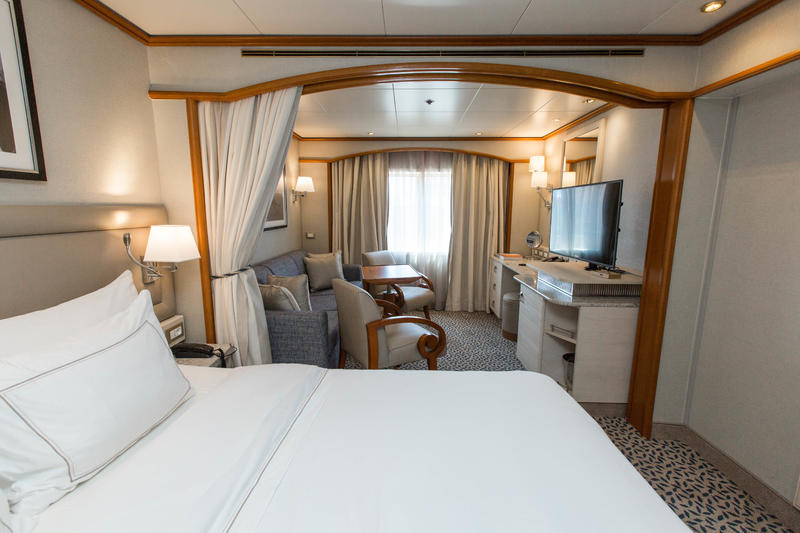 The Vista Suite on Silver Cloud Expedition