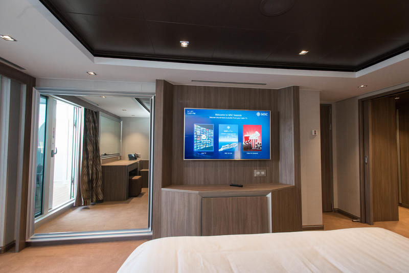 MSC Yacht Club Royal Suite on MSC Seaside Cruise Ship ...