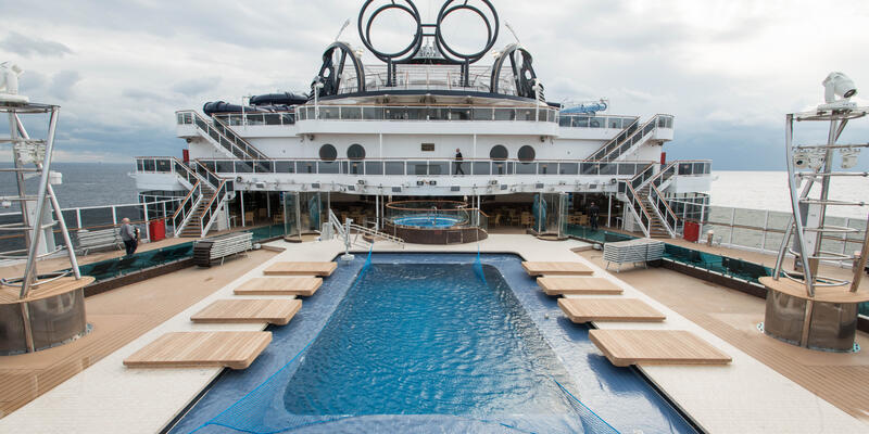 Miami Beach Pool on MSC Seaside