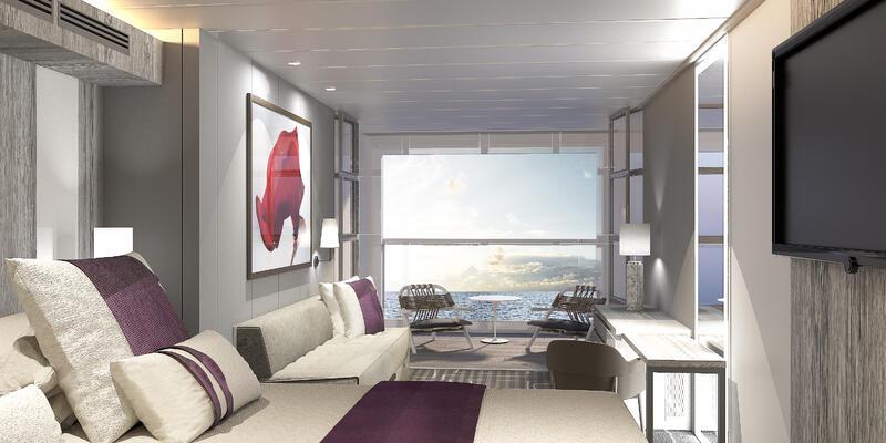 Celebrity Edge Stateroom with Infinite Veranda (Photo: Celebrity Cruises)