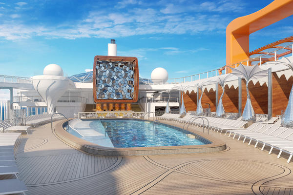 The Pool Deck on Celebrity Edge (Photo: Celebrity Edge)