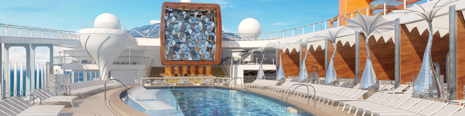 The Pool Deck on Celebrity Edge (Photo: Celebrity Edge)