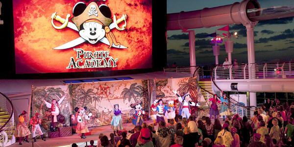 Disney Cruise Line's Pirates of the Caribbean Deck Party (Photo: Disney)
