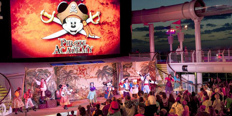 Disney Cruise Line's Pirates of the Caribbean Deck Party (Photo: Disney)