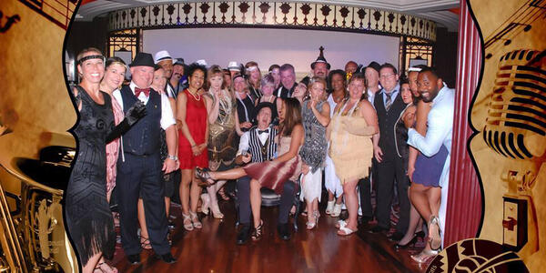 Prohibition Party on Allure of the Seas (Photo by Cruise Critic Member: cschelnick)