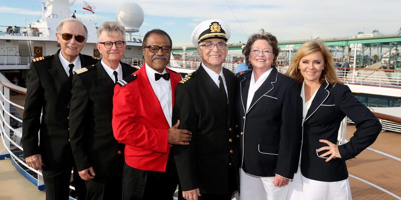 Love Boat Cast on Princess (Photo: Princess Cruise Line)