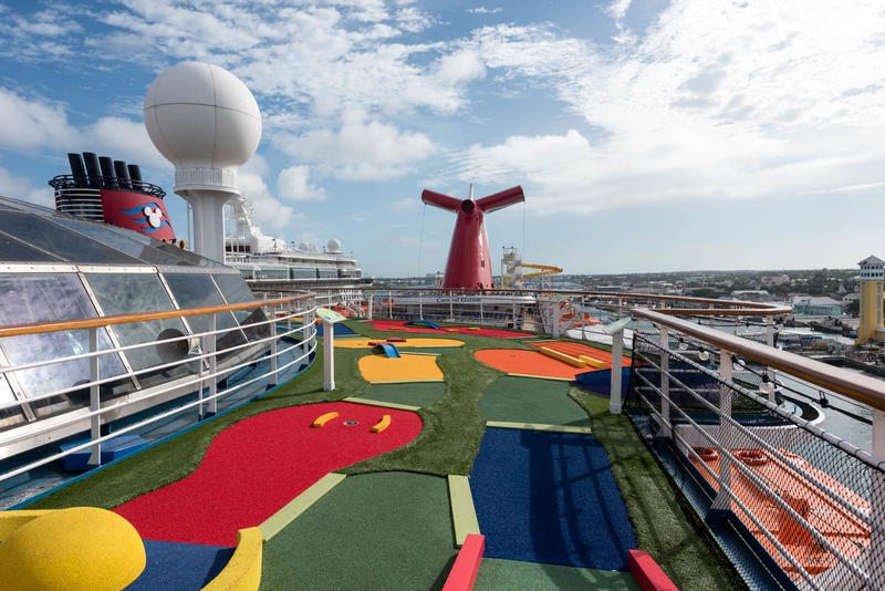 Mini Golf On Carnival Elation Cruise Ship Cruise Critic
