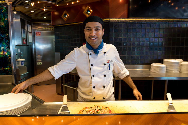 Pizza Pirate on Carnival Elation