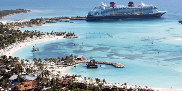 Disney Dream at Castaway Cay (Photo: Disney)