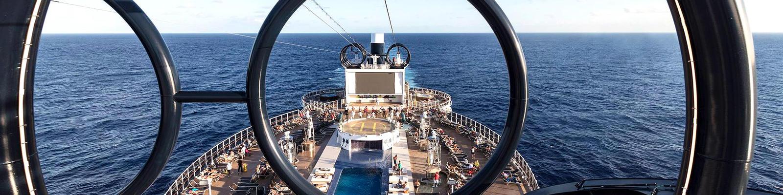 MSC Cruises' Seaside-Class Ziplines (Photo: MSC Cruises)