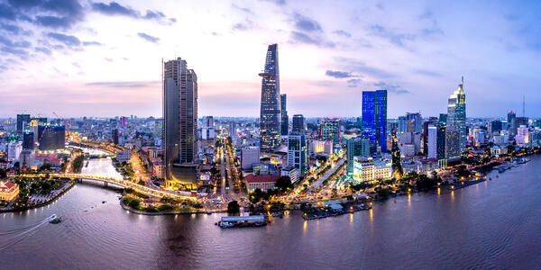 Ho Chi Minh City (Photo: Tonkinphotography/Shutterstock)
