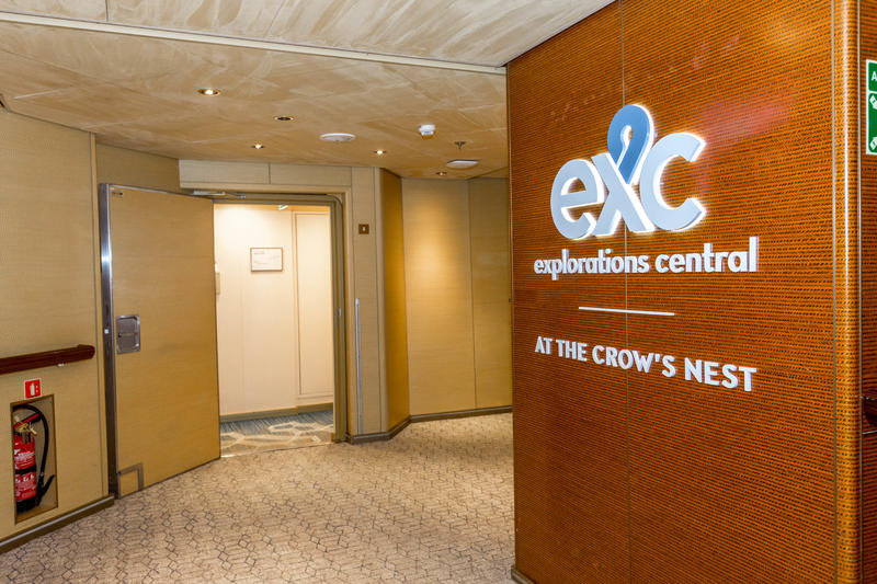 EXC Exploration Central on Zuiderdam