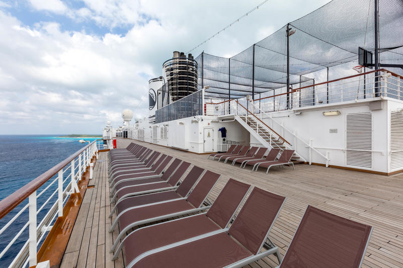 Observation Deck on Zuiderdam